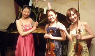 大河内 涼子(バイオリン)20120706 031