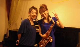 森山宙香(サックス)20120915 041