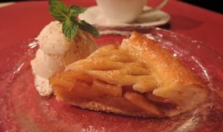 アップルパイ&バニラアイス