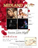 夜の部 「みっどらんどLIVE!」 Shoko(ヴァイオリン) 吉岡りさ(アコーディオン) MIYATA(ギター) 米重美文子(パーカッション)